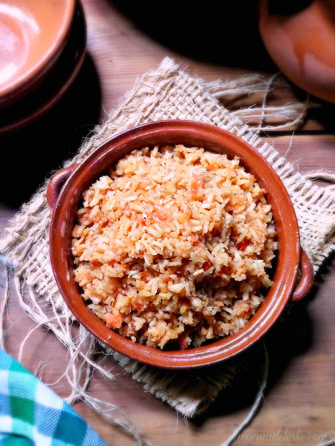 restaurant-style Mexican rice - lacocinadeleslie.com