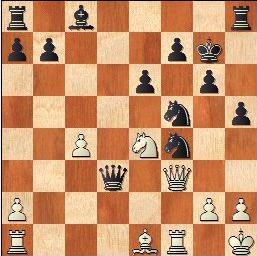 Partida de ajedrez Antoni Puget - J. Marimón, 1959, posición después de 26…Dxd3?