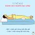Các tư thế ngủ hỗ trợ cho người bệnh!