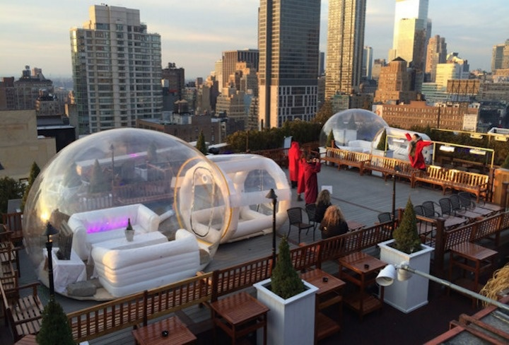 The World's 30 Best Rooftop Bars… Everyone Should Drink At #9 At Least Once. - The 230 Fifth is the largest outdoor rooftop garden in New York City.