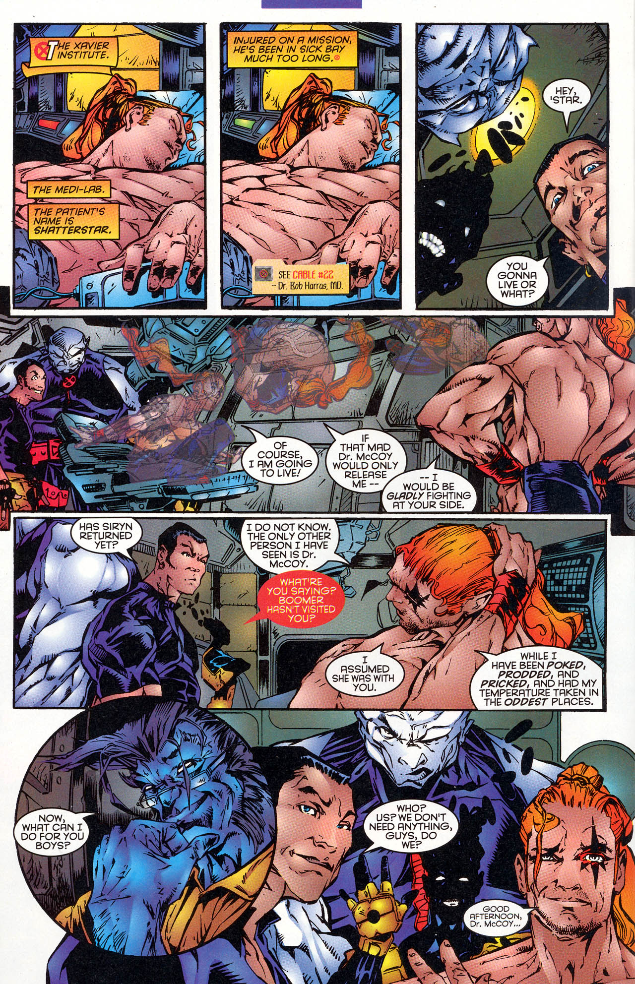 Read online X-Force (1991) comic -  Issue #47 - 17