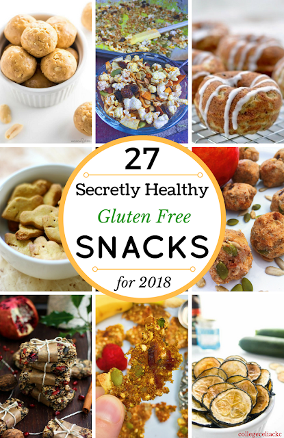 27 Secretly Healthy Snack Recipes to Kick Off 2018