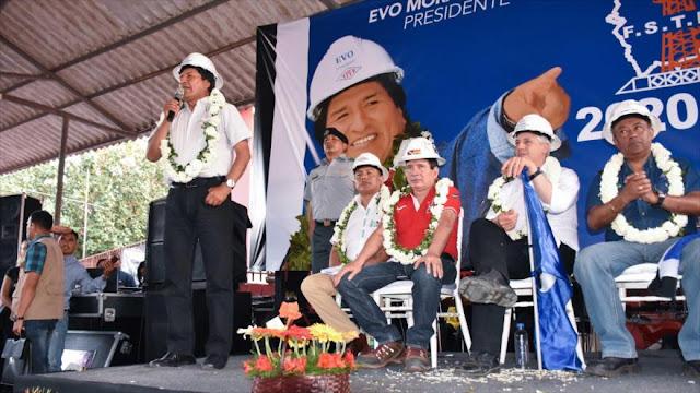 Morales: Golpismo de EEUU supone una amenaza real para humanidad