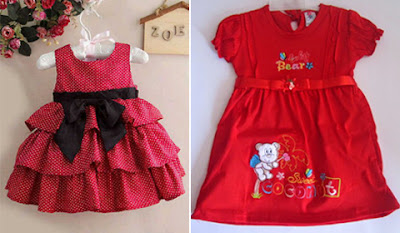 Jenis Pakaian Anak Perempuan