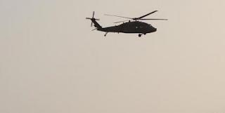 توفي رجلان في سقوط طائرة هليكوبتر في أفغانستان