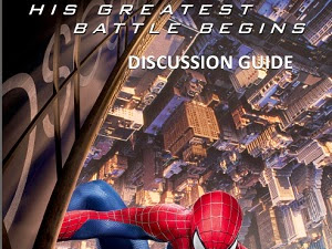 The Amazing Spiderman 2 Discussion Guide Review {Plus Win a Spiderman Prize Pack!}
