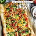 Vegetable Hummus Pizza Recipe