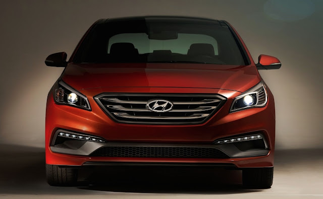 2016 Hyundai Sonata orange