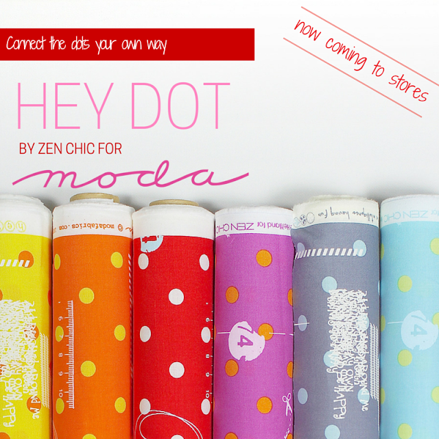 Hey Dot by Zen Chic for Moda