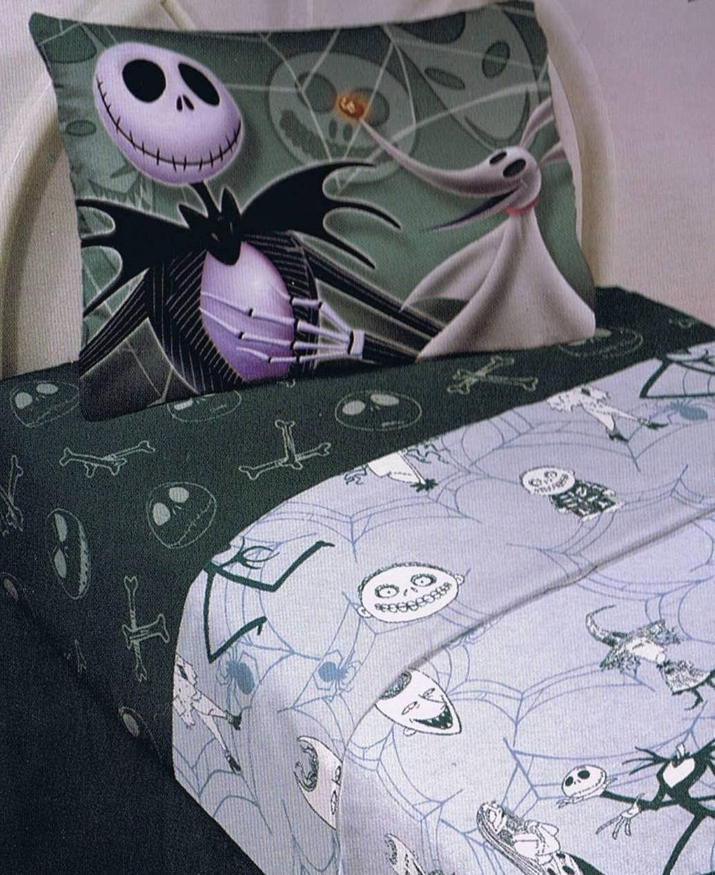 the nightmare before christmas sheet set