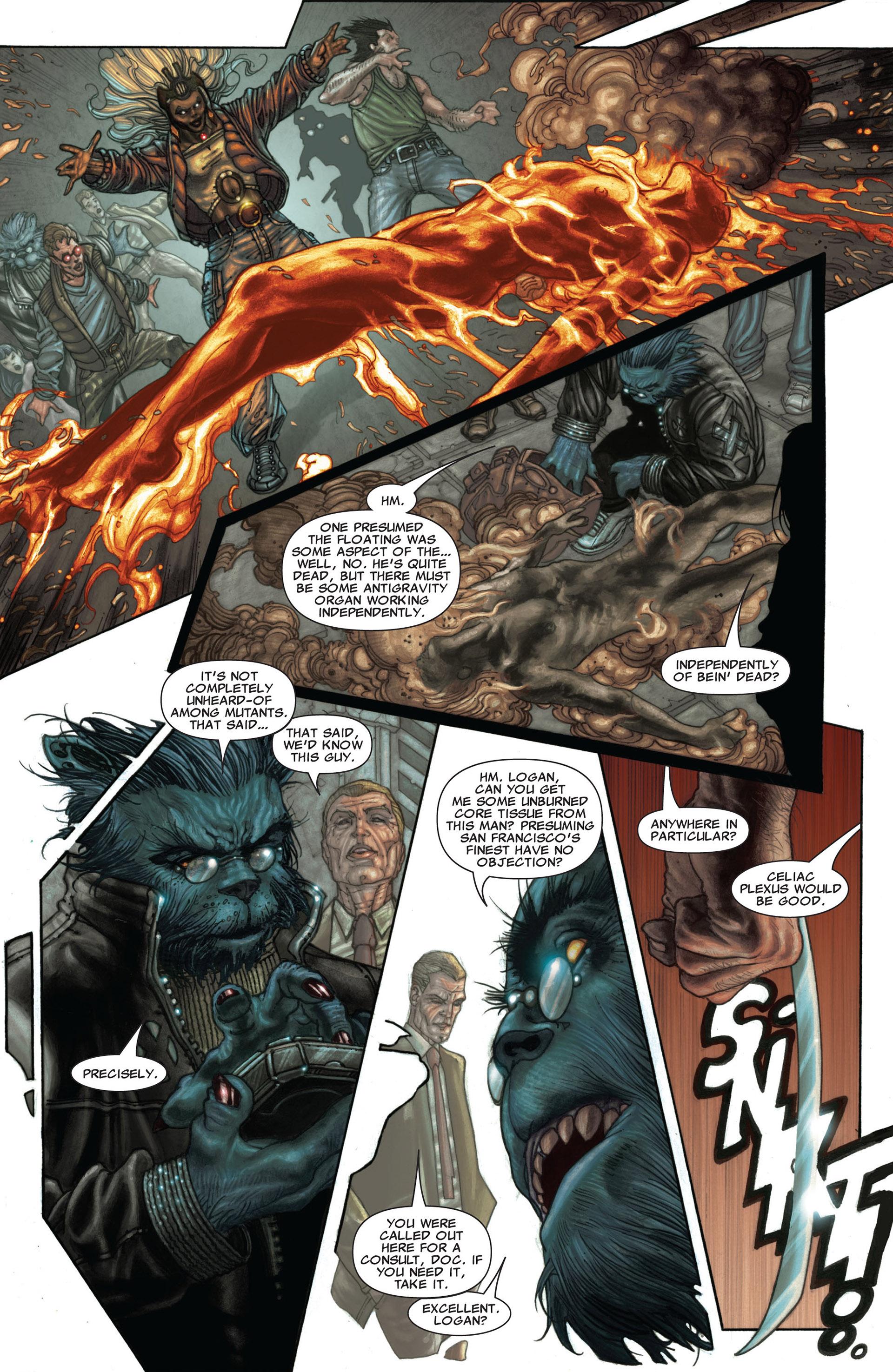 Read online Astonishing X-Men (2004) comic -  Issue #25 - 16