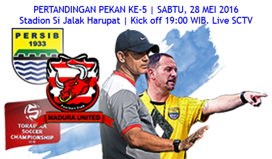 Persib vs Madura United TSC 2016:
