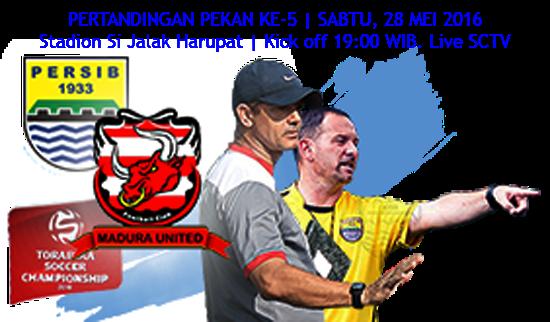 Persib vs Madura United TSC 2016: