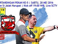 TSC 2016: Persib vs Madura United