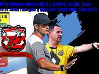 TSC 2016: Persib vs Madura United
