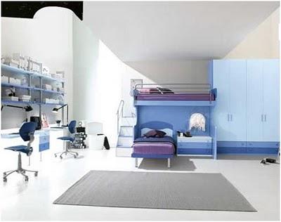 Decora el hogar dormitorios modernos y juveniles for Dormitorios femeninos modernos