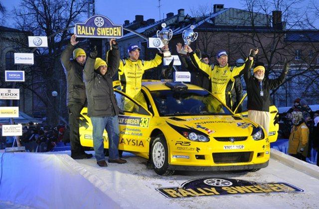 Proton Satria Neo S2000 - Sah Kejuaraan S-WRC Rally Sweden Milik Proton!