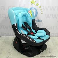 Convertible Baby Car Seat CocoLatte E800 Omni Guard Blue