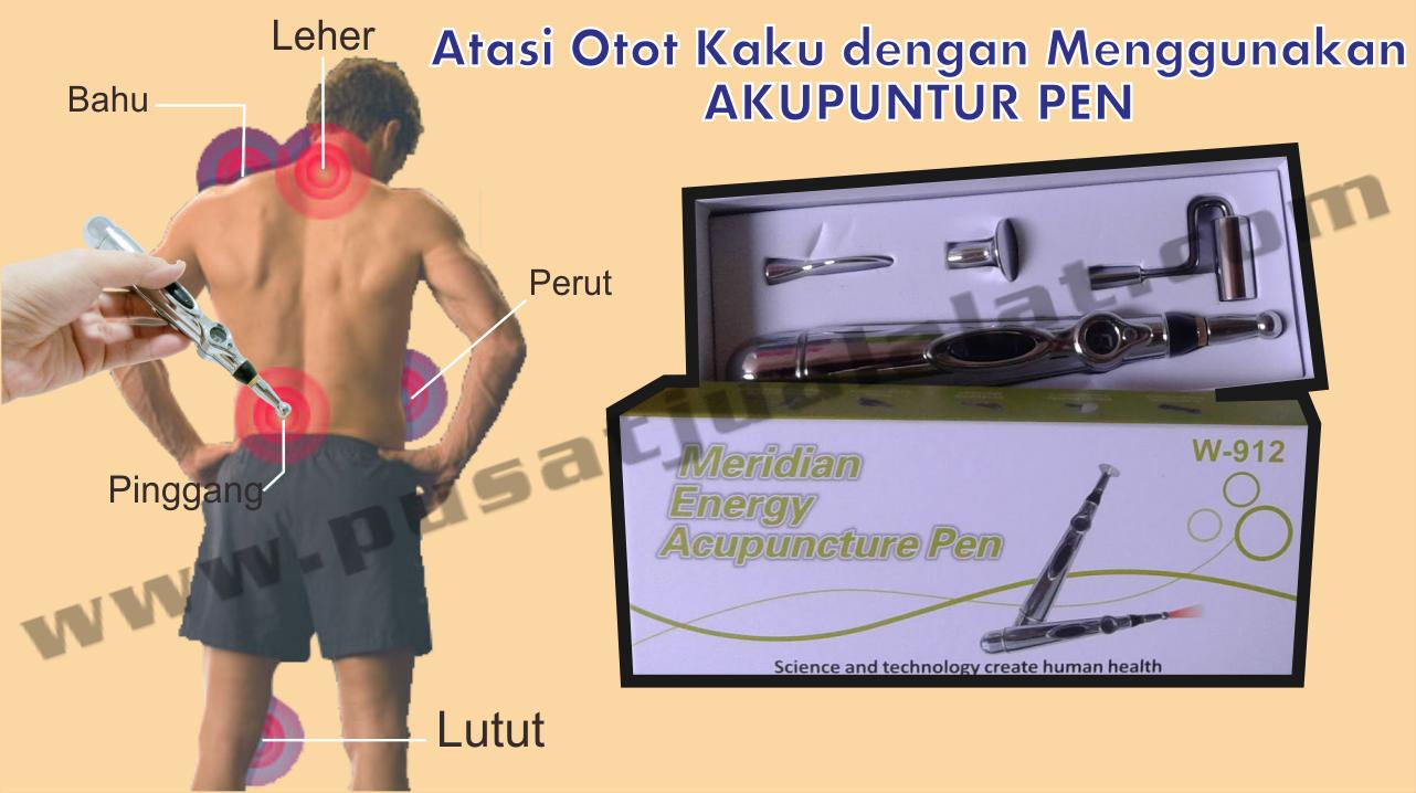 Otot Kaku Nyeri Redakan Dengan Hanya 10 15 Menit Info Pen Akupuntur Meridian Energy