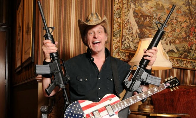 Ted Nugent the Motor City Madman... he's awesome!