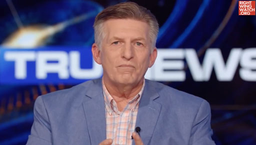 Virulently anti-LGBTQ 'citizen reporter' and far-right nut job Rick Wiles told his TV audience today on the TruNews program that Democrats plan to begin killing Republicans in an effort to suppress GOP voter turnout in 2020.