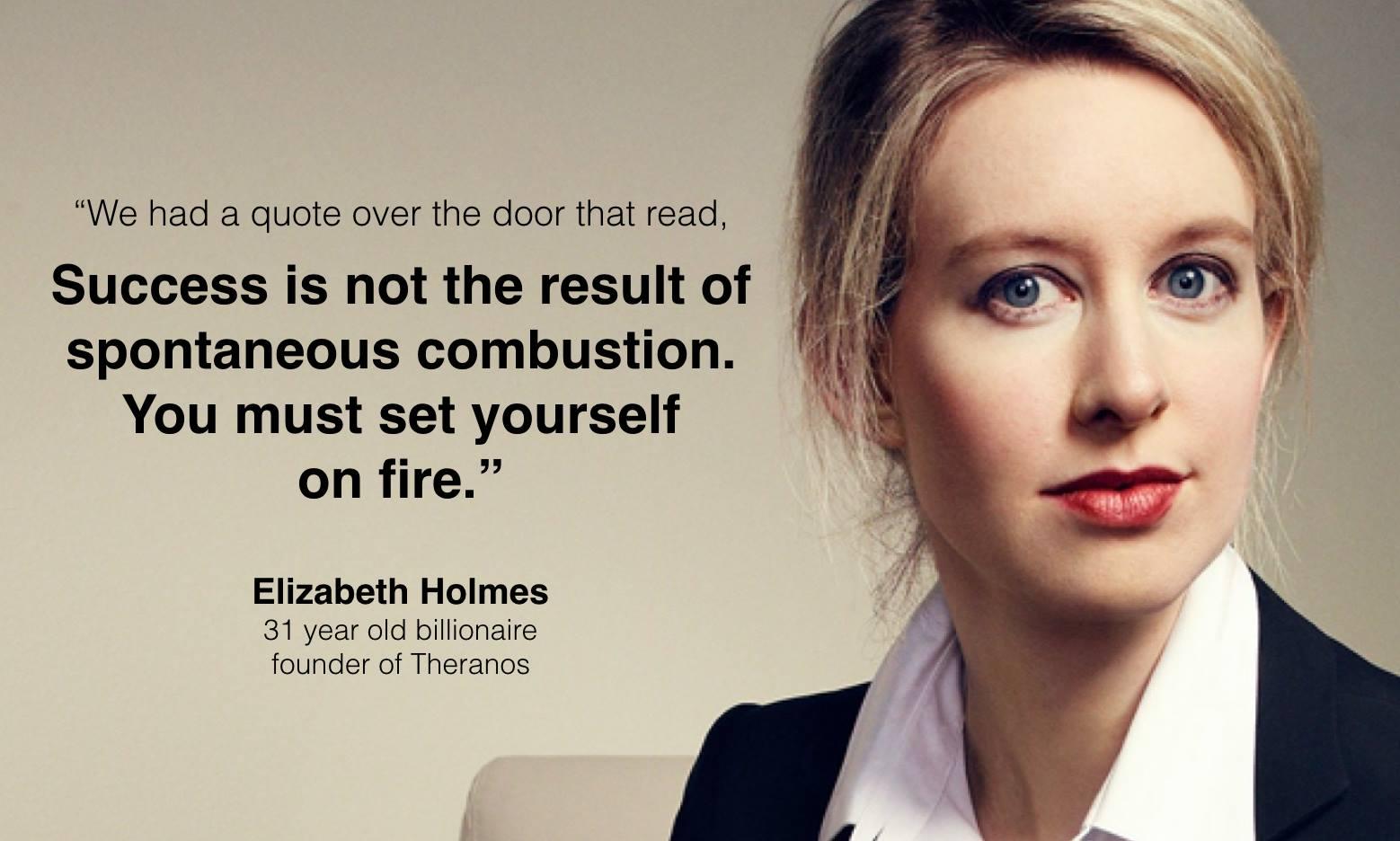 Top Quotes of Elizabeth Holmes