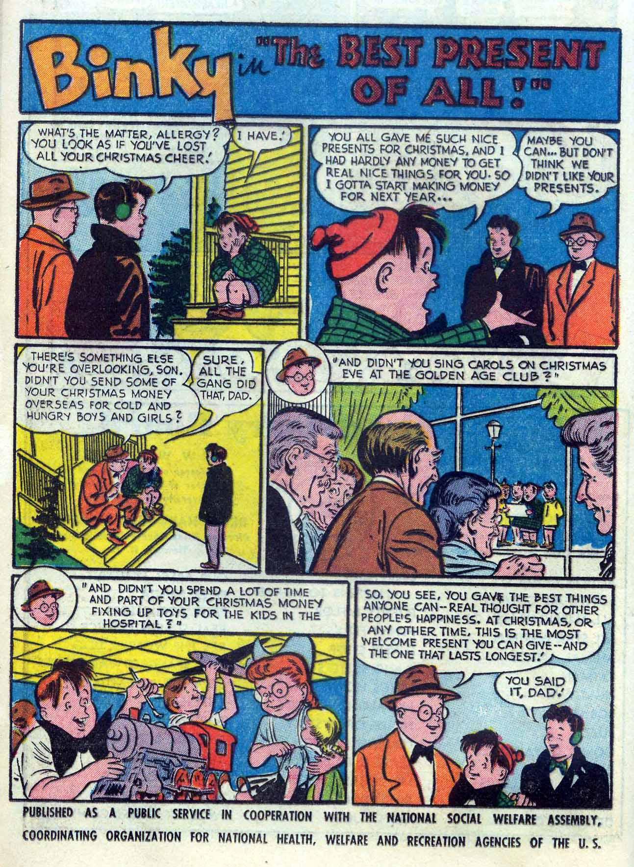 Read online Detective Comics (1937) comic -  Issue #204 - 16