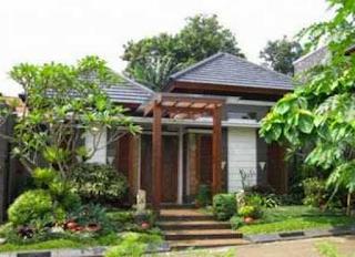 Gambar Desain Rumah Etnik Jawa Modern 1