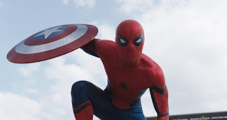 Tom Holland in Captain America Civil War review