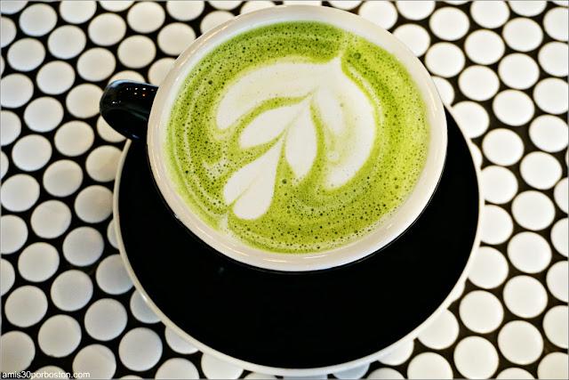 Matcha Latte de Bird & Branch, Nueva York