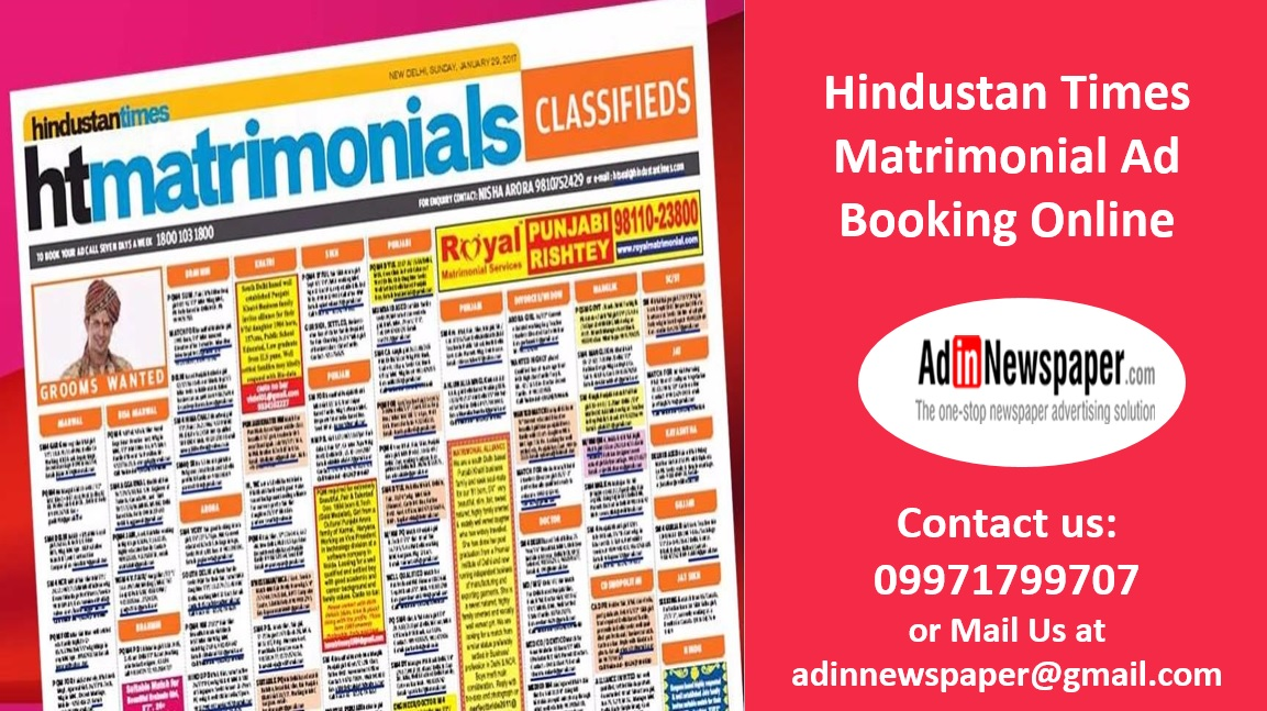 Best Newspaper Advertising Agency In India: BOOK HINDUSTAN