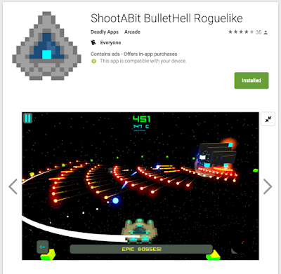 ShootABit BulletHell Roguelike Android Market
