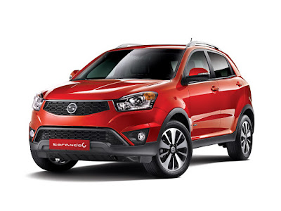 New 2017 SsangYong Korando C Red Image