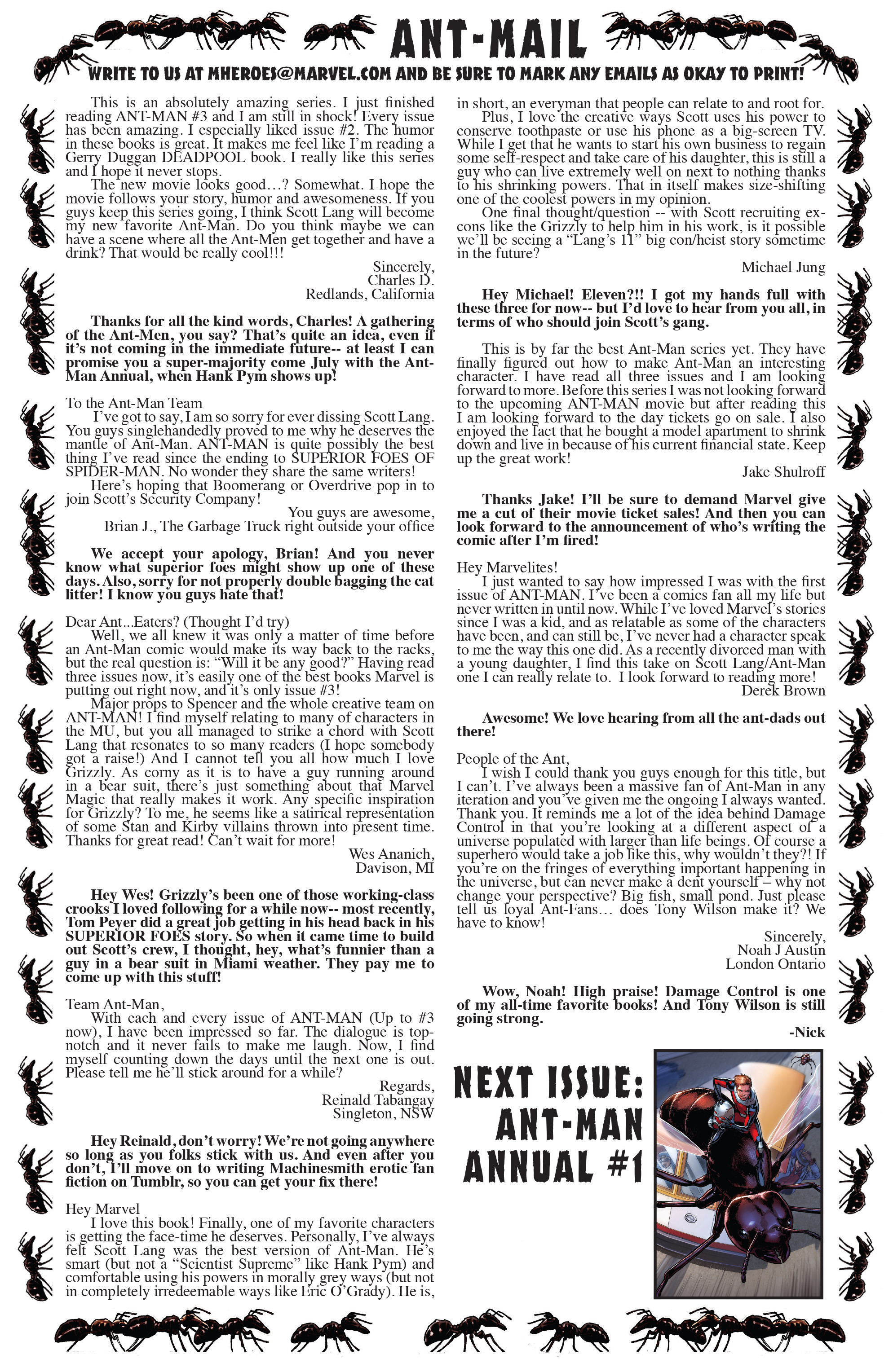 Read online Ant-Man comic -  Issue #5 - 24