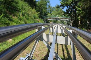 Coaster attraction Smoky Mountains
