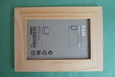 Cheap picture frame from Ikea