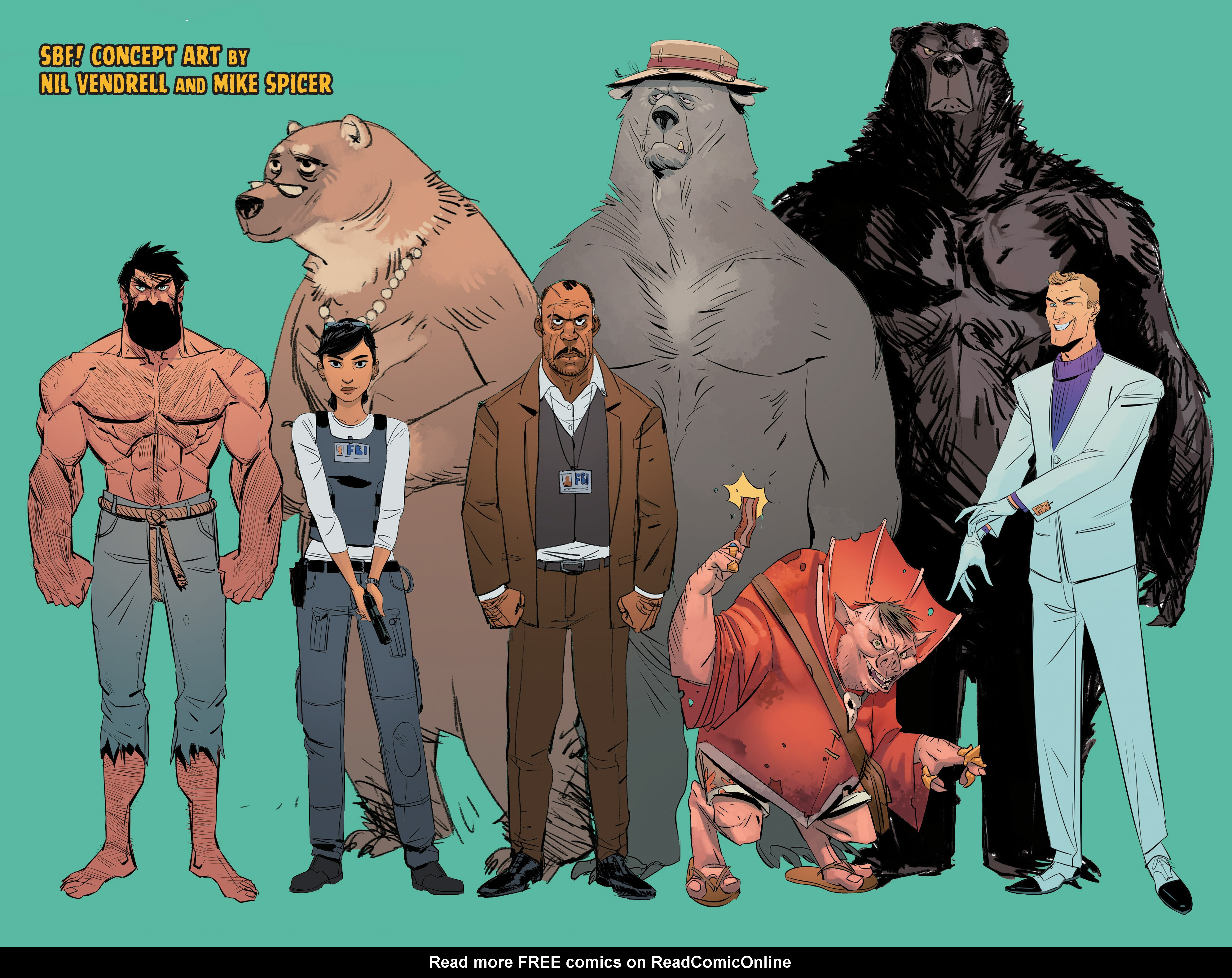Read online Shirtless Bear-Fighter! comic -  Issue #1 - 30