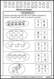 Matemática para o 1º ano