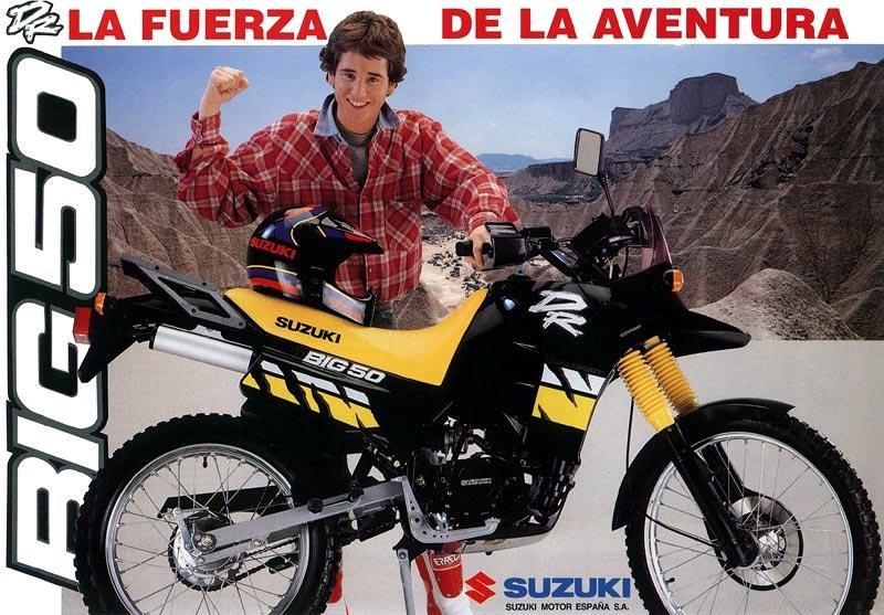 Analisis De Maquinas Suzuki Dr Big 50 1990-7685