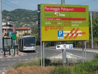 Free parking at La Spezia