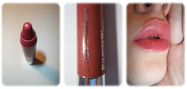 Swatch Baume à Lèvres Chubby Stick - Clinique Teinte 07 Super Strawberry