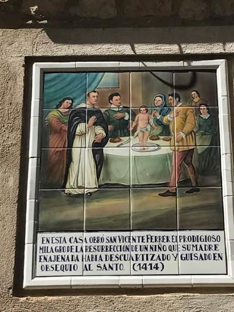 San Vicente Ferrer, Morella,niño resucitado