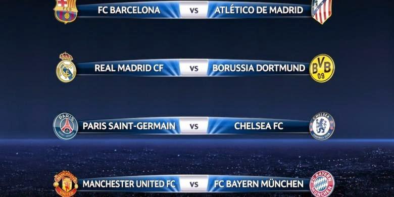 Liga Champion: Inilah Jadwal Siaran Langsung Liga Champions Minggu Ini