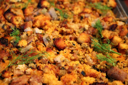 Cornbread Stuffing with Sausage and Fennel (pictured above). Another ...
