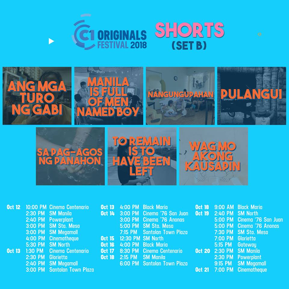 The Intersections & Beyond: 14th Cinema One Originals Film