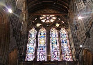 Vidrieras de la Catedral de Glasgow.