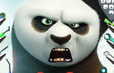 Kung Fu Panda Dental Check