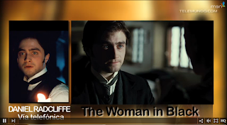 Telemundo.com interview + The Woman in Black TV spot (US)