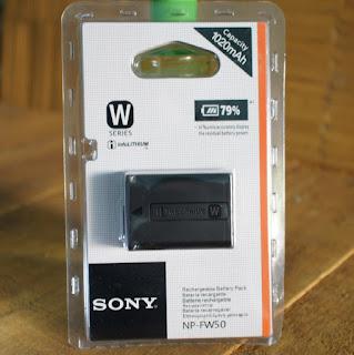 Baterai Sony a6000, a5000, A5100, Nex3, Nex 5, A33, A55 ( NP-FW50 )