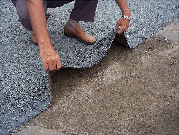 pneus reciclados para asfalto, pavimentação de estrada